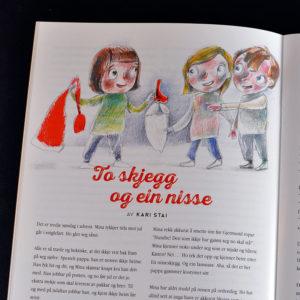 Oppslag frå innsida av Jul i Trøndelag 2016