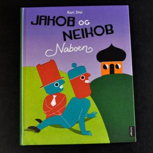 Omslag Jakob og Nekob – Naboen
